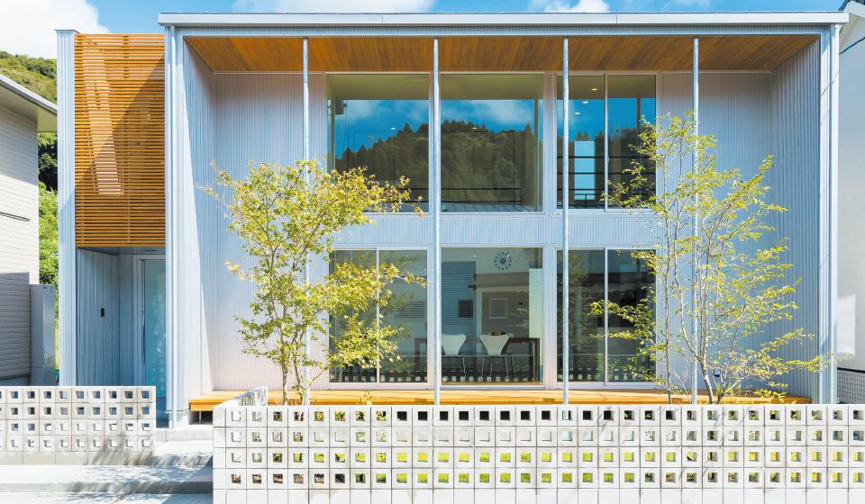 写真:jupiter cubeの一軒家の外観
