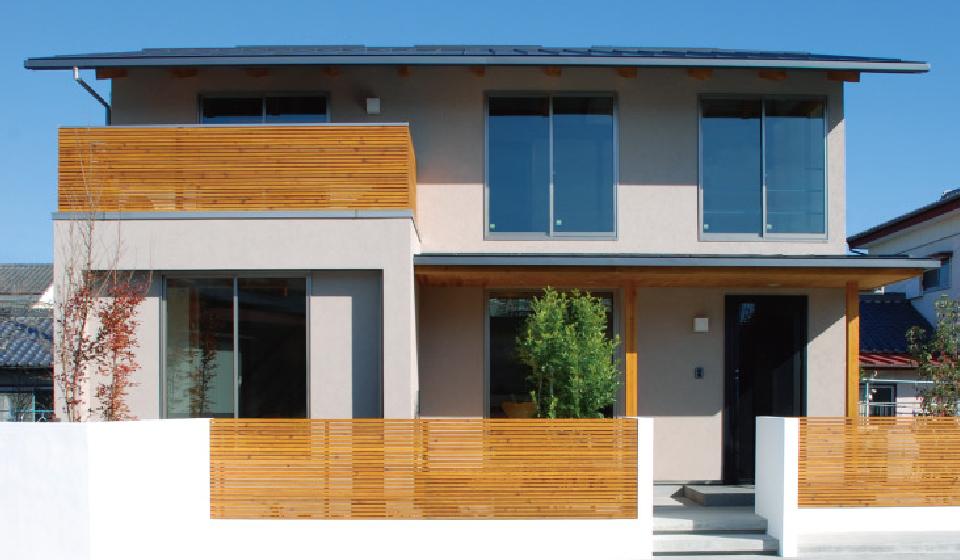写真:AZUSAの一軒家の外観